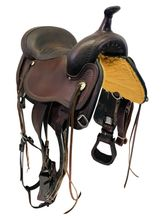 PRICE REDUCED! 16 Inch Used Circle Y Topeka Flex2 Trail Saddle 1651 *Free Shipping*