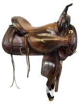 16 Inch Used Circle Y Topeka Trail Saddle 1651 *Free Shipping*