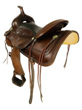 SOLD 2021/10/05  16 Inch Used Circle Y Trail Saddle 1551 *Free Shipping*