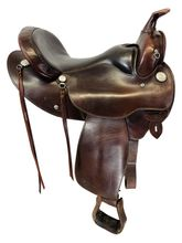 16 Inch Used Circle Y Trail Saddle 2131 *Free Shipping*
