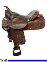16 Inch Used Circle Y Trail Saddle 2148 *Free Shipping*