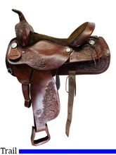 16 Inch Used Circle Y Trail Saddle 3825 *Free Shipping*