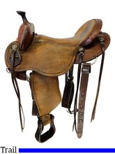 PRICE REDUCED! 16 Inch Used Clinton Anderson Aussie Trail Saddle by Martin Saddlery *Free Shipping*