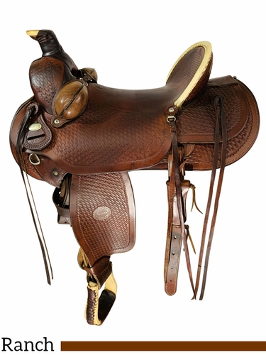 16 Inch Used Colorado Ranch Saddle 0-241 *Free Shipping*