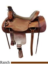 16 Inch Used Colorado Ranch Saddle 0-55 *Free Shipping*