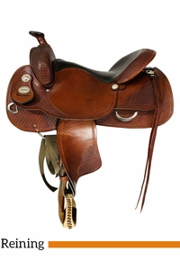 PRICE REDUCED! 16 Inch Used Crates Classic Reining Saddle 2221 *Free Shipping*
