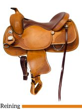 SOLD 2019/08/20 16 Inch Used Crates Classic Reining Saddle 2221 *Free Shipping*