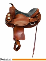 16 Inch Used Crates Classic Reining Saddle 2222 *Free Shipping*