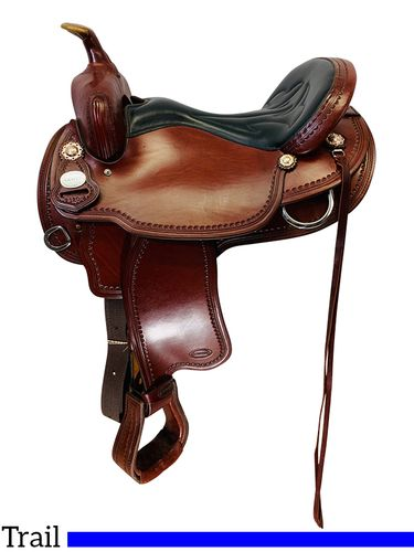 SOLD 2019/12/04  PRICE REDUCED! 16 Inch Used Crates Light Ladies Trail Saddle 2120 *Free Shipping*
