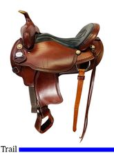 16 Inch Used Crates Light Ladies Trail Saddle 2120 *Free Shipping*