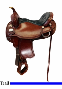 PRICE REDUCED! 16 Inch Used Crates Light Ladies Trail Saddle 2120 *Free Shipping*