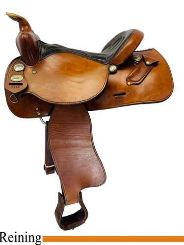 PRICE REDUCED! 16inch Used Crates Reiner Saddle 2141 uscr4523 *Free Shipping*