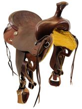 SOLD 2021/05/09  16 Inch Used Diamond M Ranch Saddle  *Free Shipping*