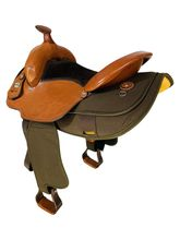SOLD 2021/10/04  16 Inch Used Fabtron Gaited Trail Saddle 7142 *Free Shipping*