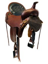 16 Inch Used High Horse by Circle Y Big Springs Trail Saddle 6862 *Free Shipping*