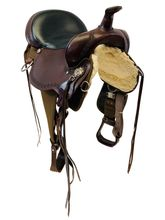 SOLD 2019/08/19  16 Inch Used High Horse Daisetta Cordura Trail Saddle 6914 *Free Shipping*