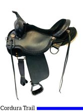SOLD 2021/04/08 16 Inch Used High Horse Daisetta Trail Saddle 6914 *Free Shipping*