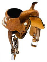 16 Inch Used High Horse Gladewater Show Saddle 6310 *Free Shipping*