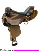 SOLD 2021/05/04 16 Inch Used High Horse Highbank Cordura Trail Saddle 6916 *Free Shipping*
