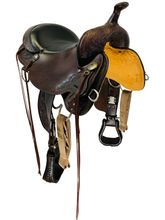 16 Inch Used High Horse Mesquite Trail Saddle 6864 *Free Shipping*