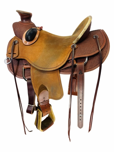 16 Inch Used High Horse Ranch Saddle 6615 *Free Shipping*