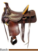 16 Inch Used Linda Little Maker Ranch Saddle 32-1999 *Free Shipping*