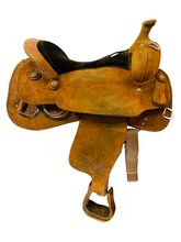 16 Inch Used Lovedahl Saddlery Training Saddle Custom *Free Shipping*
