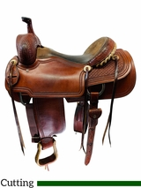 16 Inch Used Martin Saddlery Ranch Cutter by Dale Martin Custom *Free Shipping*