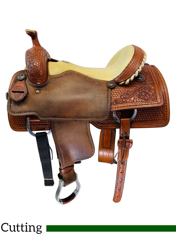 DISCONTINUED 2019/08/01 16 Inch Used Martin Saddlery Ranch Cutter by Dale  Martin Custom *Free Shipping*