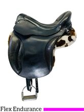 PRICE REDUCED! 16 Inch Used Ortho-Flex Endurance English Saddle Custom *Free Shipping*