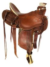 SOLD 2021/09/28  16 Inch Used R.W. Bowman Mike Branch Wade Ranch Saddle 3616 *Free Shipping*