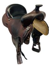 SOLD 2019/08/19  PRICE REDUCED! 16inch Used Reinsman Hand Made Trail Saddle custom usrs4514 *Free Shipping*