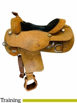 16 Inch Used Reinsman Wide Training Saddle *Free Shipping*