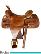 SOLD 2021/10/20  16 Inch Used Rico Roping Saddle Custom *Free Shipping*