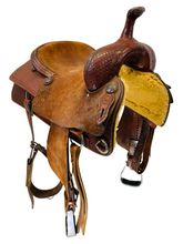 PRICE REDUCED! 16 Inch Used Rods Troy Cox Maker Cutting Saddle Custom *Free Shipping*