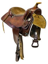 PRICE REDUCED! 16 Inch Used Sargeants Western Trail Pleasure Saddle 1300 *Free Shipping*