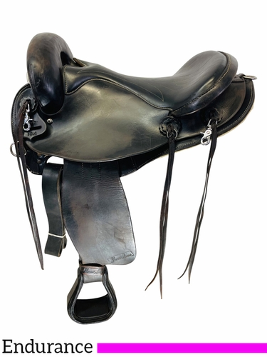 SOLD 2021/05/03  16 Inch Used Sharon Saare Endurance Saddle 272 *Free Shipping*