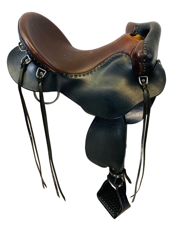 SOLD 2019/06/27 16 Inch Used Steele Endurance Frontier Trail Saddle FT217X  *Free Shipping*
