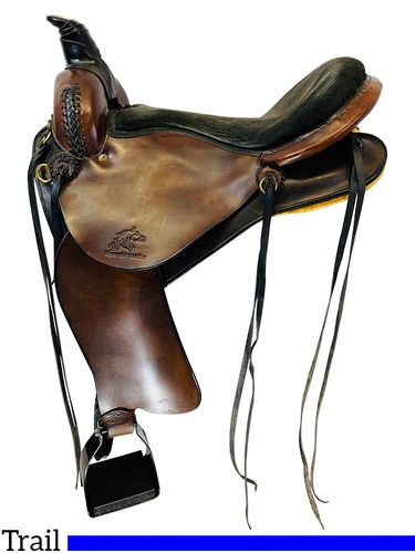 16 Inch Used Synergist Trail Saddle 2831 *Free Shipping*