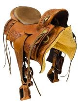 SOLD 2019/11/27  16 Inch Used Timberline Flex Panel Endurance Saddle GL 556 *Free Shipping*