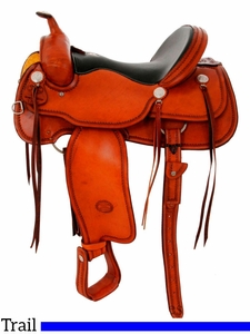"** SALE **15.5"" to 17"" Billy Cook Trail Saddle 1784"