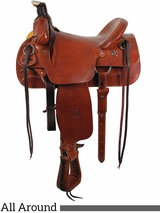 "** SALE **16"" The Sagebrush Rider All Around WIDE Saddle by Colorado Saddlery 300-6327"