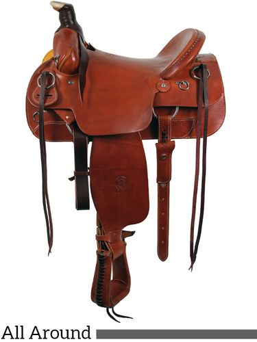 """SOLD OUT 16"""" The Sagebrush Rider All Around WIDE Saddle by Colorado Saddlery 300-6327"""