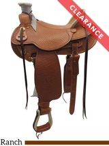 """16"""" The Teton Valley Wade Tree Saddle by Colorado Saddlery 300-292, CLEARANCE"""