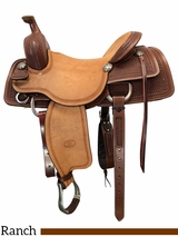 "16"" to 17"" Billy Cook Working Cow Horse Saddle 6310"