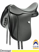 "16.5"" to 18"" Bates Dressage Saddle 015"