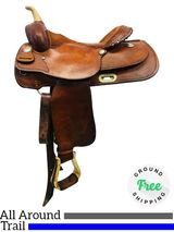 """16"""" Used Billy Cook Trail/Arena Saddle 1605 usbi4315 *Free Shipping*"""