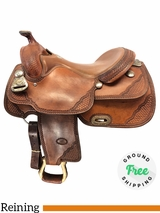 """16"""" Used Billy Cook Wide Reiner Saddle 9602 Classic Reiner usbi4150 *Free Shipping*"""