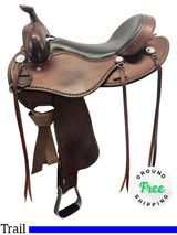 "16"" Used Cashel SA-CT Trail Saddle usch4166 *Free Shipping*"