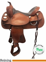 """PRICE REDUCED! 16"""" Used Crates Reining Medium Saddle Classic Reiner 247 uscr4165 *Free Shipping*"""
